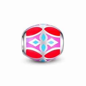 Multicolor Oval Charm