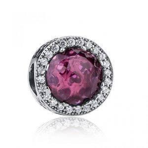 Charm Púrpura Radiante