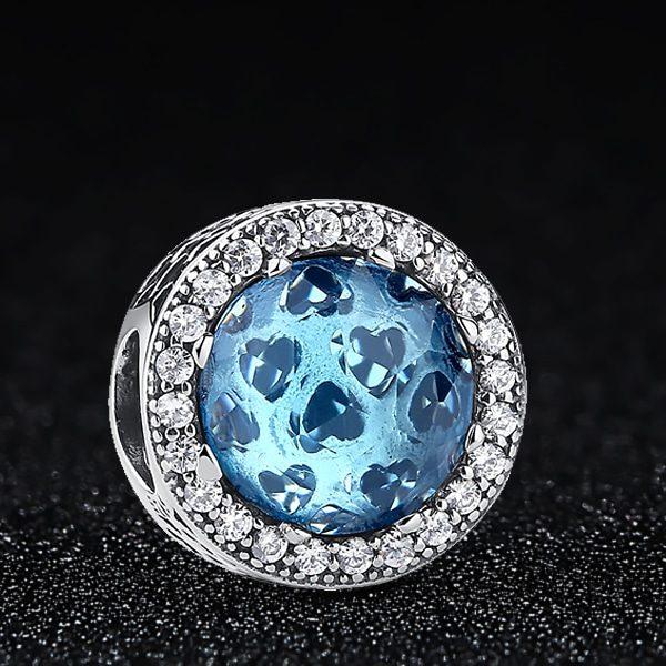 Charm Azul Radiante