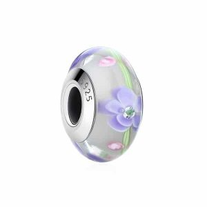Charm Murano Flores Silvestres