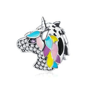 Charm Unicornio Brillante