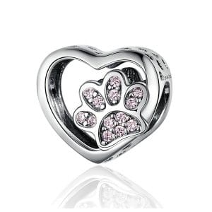 Your Little Paw in my Heart Charm