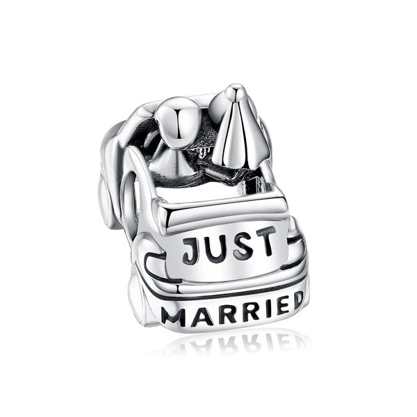 Charm Carrito de Recién Casados