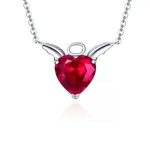Collar Corazón de Angel