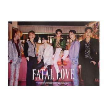 MONSTA X Póster Original – Fatal Love (Versión 2)